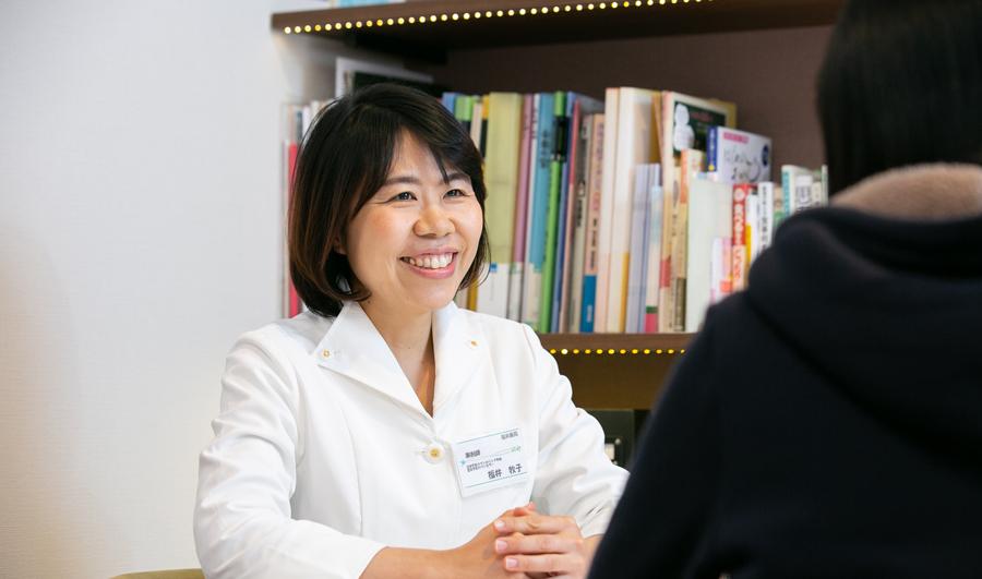 カウンセラー、薬剤師の福井牧子
