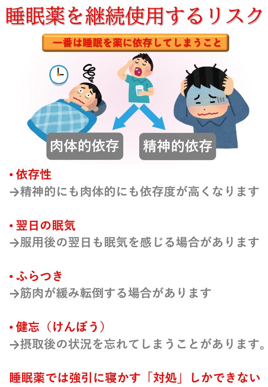 睡眠薬の注意点